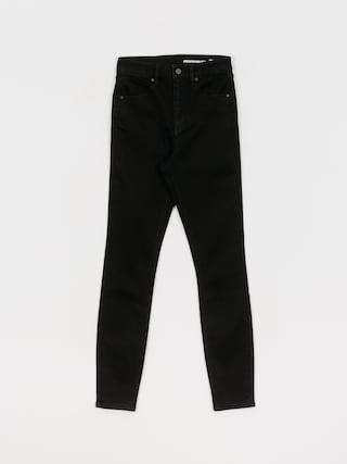 Spodnie Volcom Liberator High Rise Wmn (premium wash black)