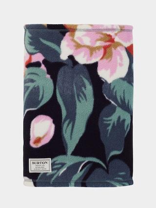 Ocieplacz Burton Ember Fleece Neck Warmer (dark slate oversized floral)