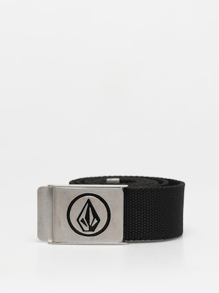 Pasek Volcom Circle Web (black)