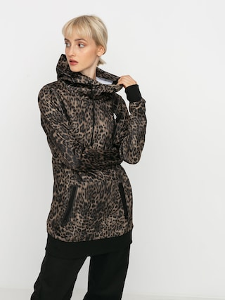 Bluza aktywna Volcom Spring Shred HD Wmn (leopard)