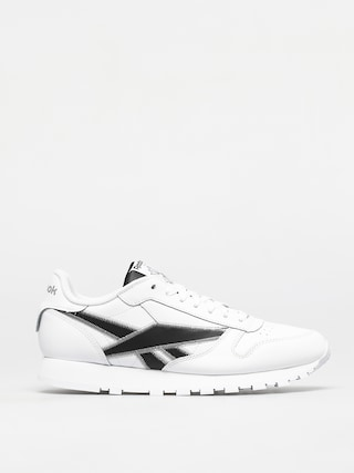 Buty Reebok Classic Leather (white/black/msilve)