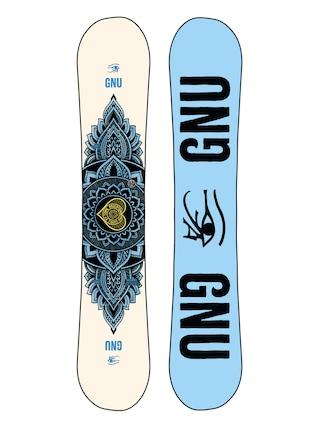 Deska snowboardowa Gnu Pro Choice Wmn (blue/black)