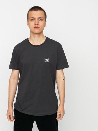 T-shirt Iriedaily Chestflag (coal)
