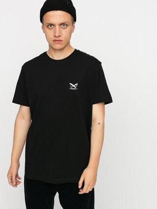T-shirt Iriedaily Chestflag (black)