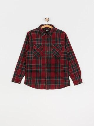 Koszula Brixton Bowery Flannel Ls (burgundy)