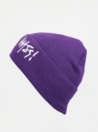 Czapka zimowa MassDnm Signature (purple)
