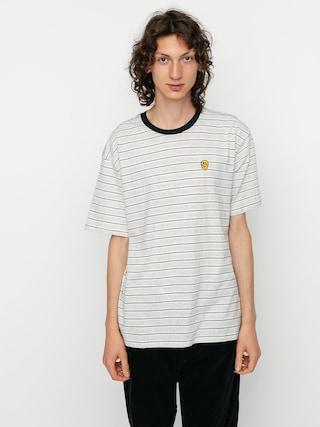 T-shirt Brixton Hilt Melter (off white/ash/washed navy)