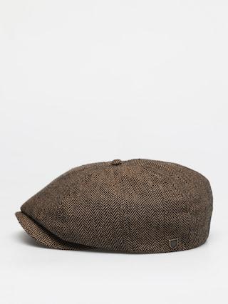 Kaszkiet Brixton Brood Snap Cap (brown/khaki)