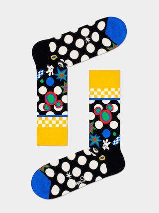 Skarpetki Happy Socks Tune In (black/multi)
