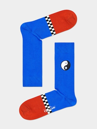 Skarpetki Happy Socks Yin Yang (blue/brown)