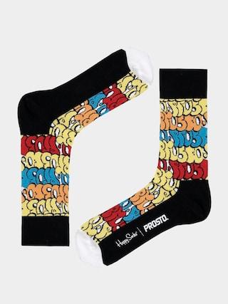Skarpetki Happy Socks Prosto Trow Up (black/multi)