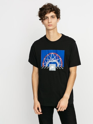 T-shirt Nike Sportswear Basket (black)