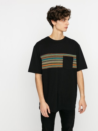T-shirt Iriedaily Chop Chop Pocket (black neon)