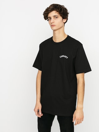 T-shirt Carhartt WIP University Script (black/white)