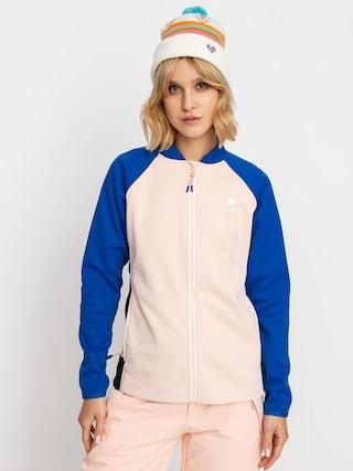 Bluza aktywna Burton Crown Weatherproof Wmn (lapis blue/peach melba/true black)