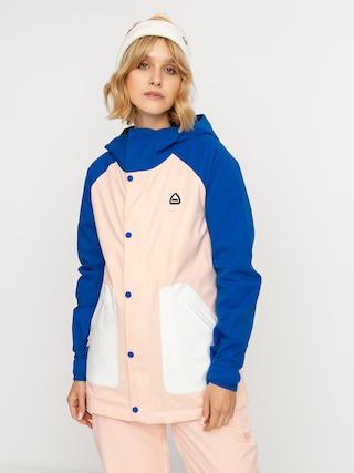 Kurtka snowboardowa Burton Eastfall Wmn (lapis blue/peach melba/stout white)
