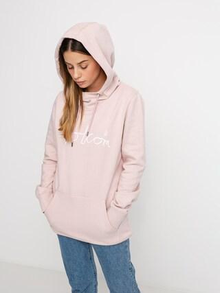 Bluza z kapturem Volcom Costus HD Wmn (faded pink)