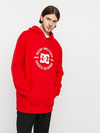 Bluza z kapturem DC Star Pilot HD (racing red)