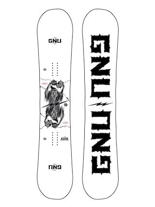 Deska snowboardowa Gnu RC C3 (white/black)