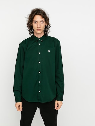 Koszula Carhartt WIP Madison (bottle green/wax)