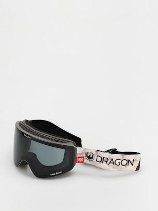 Gogle Dragon PXV (686 camo/ll dark smoke/ll rose)