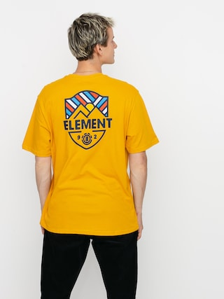 T-shirt Element Beaming (old gold)