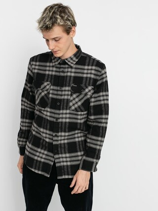 Koszula Brixton Bowery Flannel Ls (black/charcoal)