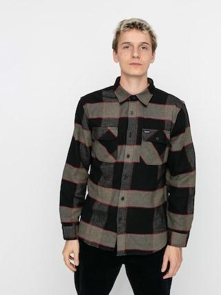 Koszula Brixton Bowery Flannel Ls (heather grey/charcoal)