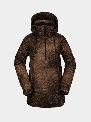 Kurtka snowboardowa Volcom Fern Ins Gore Pullover Wmn (leopard)