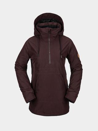Kurtka snowboardowa Volcom Fern Ins Gore Pullover Wmn (black red)