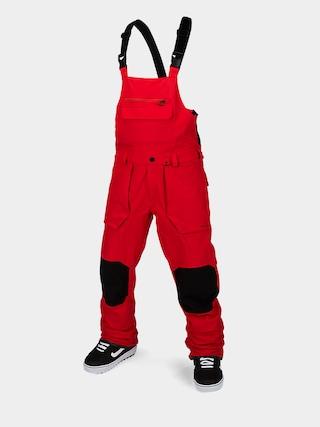 Spodnie snowboardowe Volcom Roan Bib Overall (red)