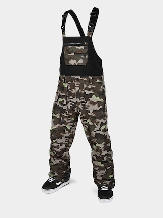 Spodnie snowboardowe Volcom Rain Gore Bib Overall (army)