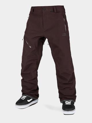 Spodnie snowboardowe Volcom L Gore Tex (black red)