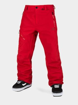 Spodnie snowboardowe Volcom L Gore Tex (red)