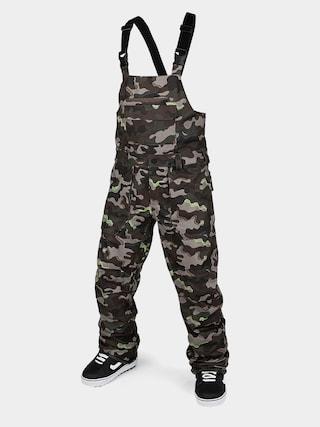 Spodnie snowboardowe Volcom Roan Bib Overall (army)