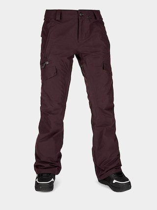 Spodnie snowboardowe Volcom Aston Gore Tex Wmn (black red)