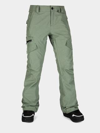 Spodnie snowboardowe Volcom Aston Gore Tex Wmn (dusty green)