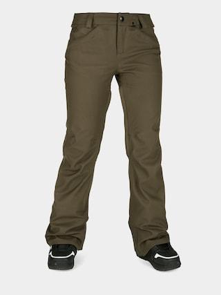 Spodnie snowboardowe Volcom Species Stretch Wmn (black military)