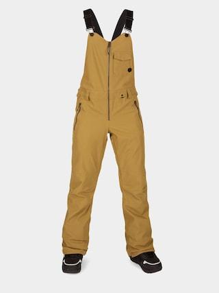 Spodnie snowboardowe Volcom Swift Bib Overall Wmn (burnt khaki)