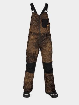 Spodnie snowboardowe Volcom Swift Bib Overall Wmn (leopard)