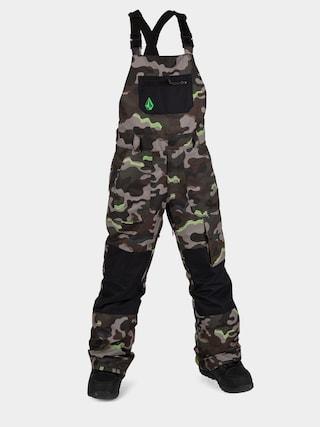 Spodnie snowboardowe Volcom Barkley Bib Overall (army)