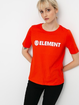 T-shirt Element Element Logo Wmn (grenadine)