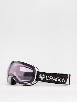 Gogle Dragon X2s (pearl/ll violet/ll dark smoke)