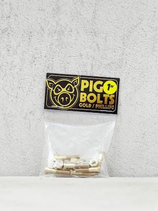 Montau017cu00f3wki Pig Phillips Bolts (gold)