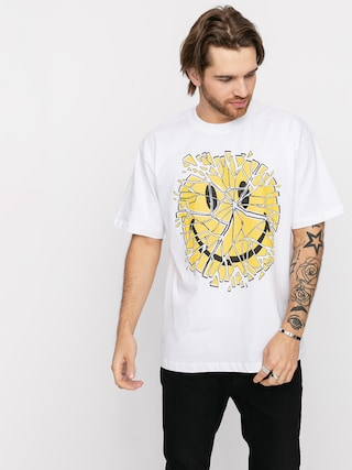 T-shirt Chinatown Market Glass Smiley (white)