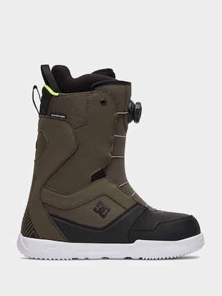 Buty snowboardowe DC Scout (green)