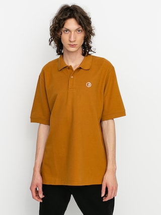 Polo Polar Skate Pique (golden brown)