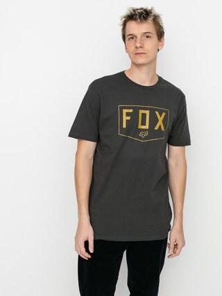 T-shirt Fox Shield Premium (blk/gld)