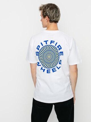 T-shirt Spitfire Clsc 87 Swrl (white/blue)