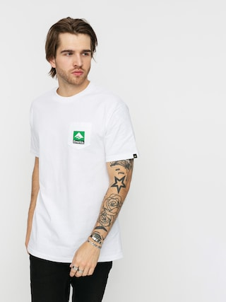 T-shirt Emerica Combo Pocket (white)
